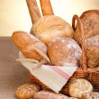 Various breads — Stock Photo #12480652