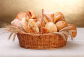 Variety of bread — Stockfoto