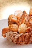 Variety of bread — Stock Photo