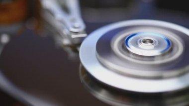 Unidad de disco duro — Vídeo de stock