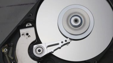 Hard disk drive — Stock Video