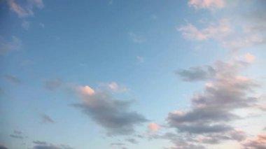 Tijd lapse wolken — Stockvideo