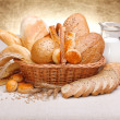 Fresh bread and pastry — Stock Photo #14148943