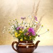 Stock Photo: Wild flowers still life