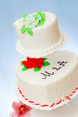 Wedding cakes models — Stock Photo