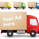 Cargo truck illustration — Stock Vector