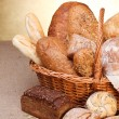 Various breads — Stock Photo #19664973