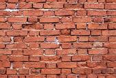 无缝砖墙壁纹理 — 图库照片