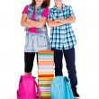 Kids Back to School — Stockfoto
