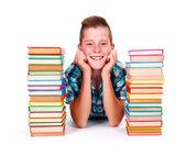 Szczęśliwy teen chłopiec — Zdjęcie stockowe