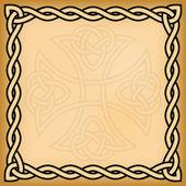 Celtic background — Vetor de Stock