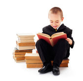 Child Reading — Stock Photo