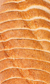 Top view of sliced bread — Stock Photo