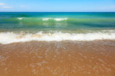 Sea waves at he beach — Stock Photo