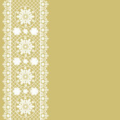 Vector vintage floral background — Stock Vector