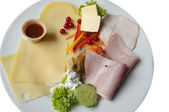A Sumptuous German Breakfast — Stock Photo
