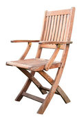 Wooden Chair Isolated — Stock Photo