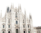 Milan Cathedral Isolated — Stock Photo