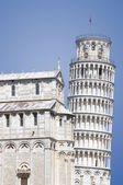 Leaning Tower of Pisa Isolated — Stock Photo