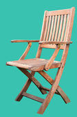 Wooden Chair Isolated — Zdjęcie stockowe