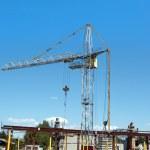 Tower crane — Stock Photo #18239587