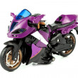 Sporting motor cycle - Stock Photo