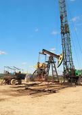 Repair oil pump — Stock Photo
