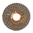 Old abrasive disk — Stock Photo