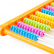Abacus isolated — Stock Photo
