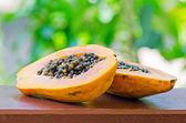Papaya — Foto de Stock