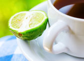Earl Grey tea with bergamot — Stock Photo