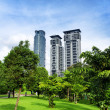 Stock Photo: Downtown of KualLumpur in KLCC district