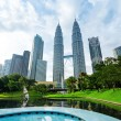 Downtown of Kuala Lumpur in KLCC district — Stock Photo #16017525