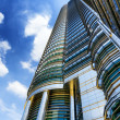 Downtown of KualLumpur in KLCC district — Stock Photo #18469833
