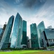 Skyscrapers in financial district of Singapore — Stock Photo #18469929
