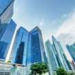 Skyscrapers in financial district of Singapore — Stock Photo #20497459