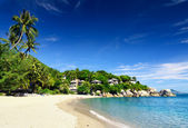 Beautiful tropical landscape. Samui Island, Thailand — Stock Photo
