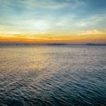 Sea and sky at sunset. Beautiful landscape — Stock Photo