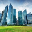 Skyscrapers in financial district of Singapore — Stock Photo #29027753