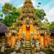 Traditional balinese architecture — Stock Photo