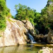 Stock Photo: Hin Lad Waterfall. Koh Samui, Thailand