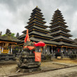 Traditional balinese architecture. The Pura Besakih temple — Stock Photo #32386103