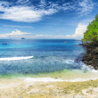 Tropical beach. Padangbai, Bali, Indonesia — Stock Photo #33716987