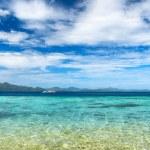 Beautiful tropical sea and blue sky — Stock Photo #33717097