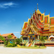 Wat Plai Laem temple in Samui Island, Thailand — Stock Photo