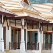 Stock Photo: Row of new bungalows in resort