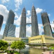 Downtown of KualLumpur in KLCC district — Stock Photo #34264231
