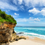 Coast of Bali Island, Indonesia — Stock Photo #34990617
