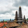 Stock Photo: Traditional balinese architecture. PurBesakih temple