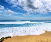 Coast of Bali Island, Indonesia — Stock Photo